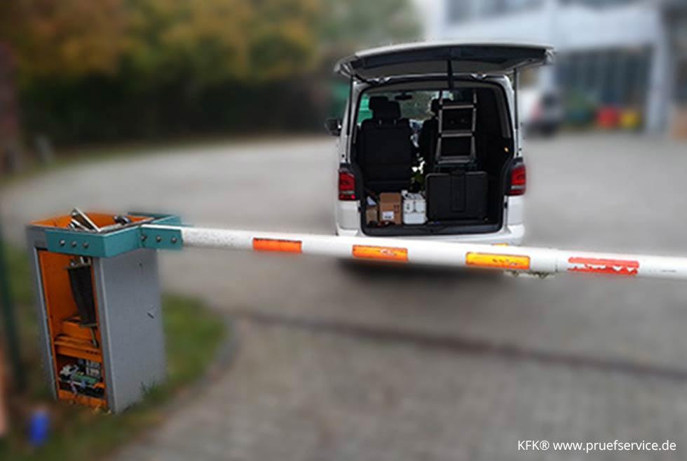Wartungen Safety Prüfungen Reparaturen Von Schrankenanlagen