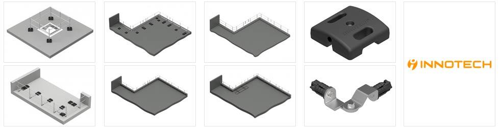 Die Geländersicherung ist eine spezielle Art der Dachabsturzsicherung