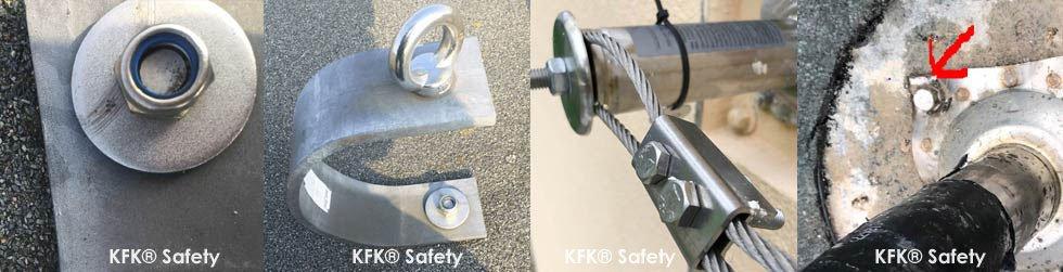 KFK Torservice & Safety Prüfservice® GmbH® Safe Work & Safety Inspection Service & Warum UVV Prüfung von Seilsystemen und Sekuranten
